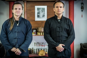 SiFu Bruno und SiFu Marek
